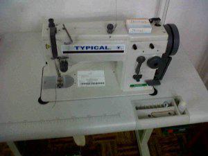 Maquina de coser recta semi industrial marca typical
