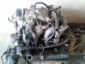 Motor y caja recien hecho listo de montar
