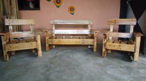 Muebles en madera para niños