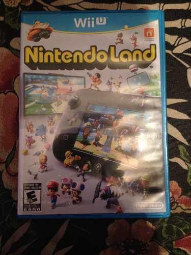 Nintendo land juego de wii u físico