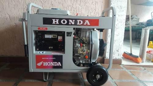 Planta electrica soldadora honda 10 kva (10.000 watt)