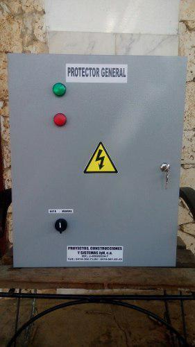 Protector eléctrico general evita daños a tus equipos