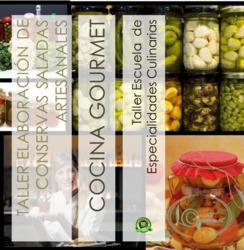 Taller de conservas saladas y envasado del 03 al 06 de