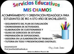 Tareas dirigidas y acompañamiento pedagógico