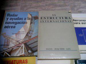 Vendo 50 obras de aeronautica civil y libros de todo genero