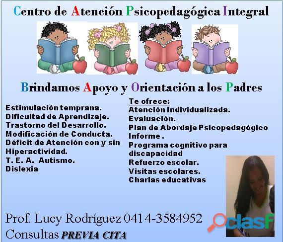 Atención psicopedagogíca integral