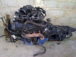Motor estandar de triton 5.4 full inyeccion y 1 caja 4r100