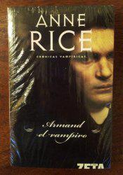 """Vendo libro: """"armand el vampiro"""" (cronicas vampiricas vi)"""