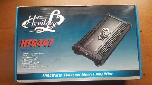 Amplificador/planta lanzar heritage de 2000 watts 4 canales