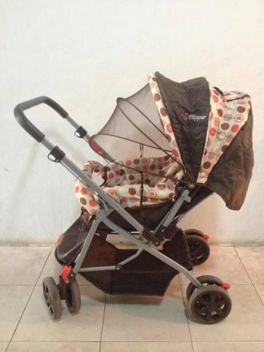 Coche Paragua Para Bebe 8 Ruedas (flipper)