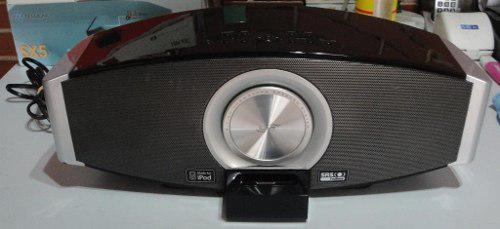 Equipo portátil de sonido para ipod.