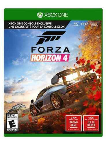 Forza horizon 4 xbox one (fisico) como nuevo
