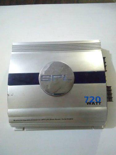 Planta amplificadora spl 4 canales de 720 watt 2 ohm usada