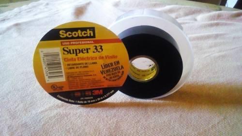 Teipe 3m scotch super 33