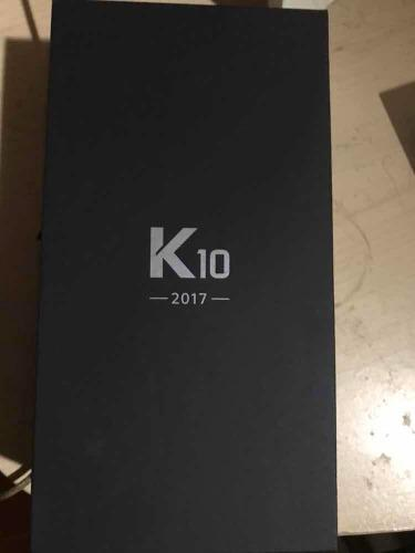 Teléfono lg k10 nuevo color dorado