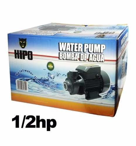 Bomba de agua 1/2 hp marca hipo