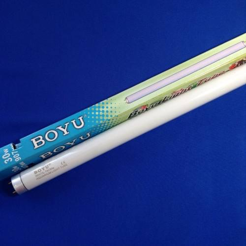 Bombillo fluorescente boyu 30w blanco acuarios peceras