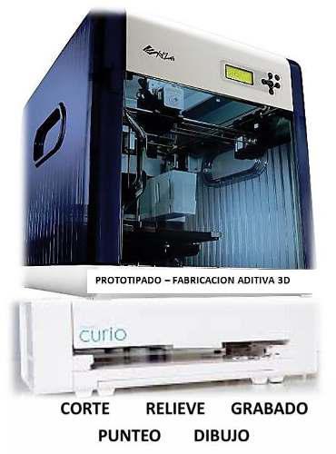 Combo 2d/3d impresora3d xyzdavinci + plotter_ curio nuevo