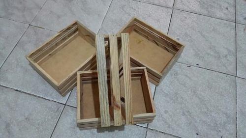 Guacalitos.. madera de pino.