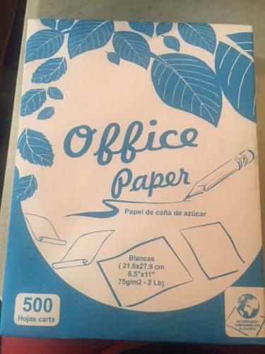 Hojas tamaño carta para fotocopiadoras en bond 200 unid