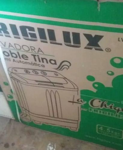 Lavadora semiautomática frigilux