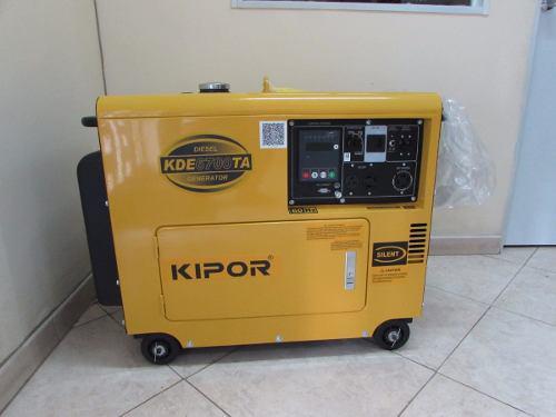 Planta eléctrica kipor kde6700ta 5.5 kva 60 hz
