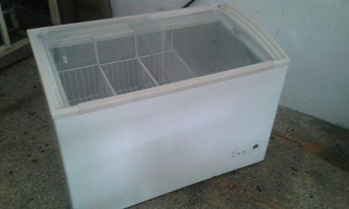 Congelador exhibidor horizontal de 300 lt.
