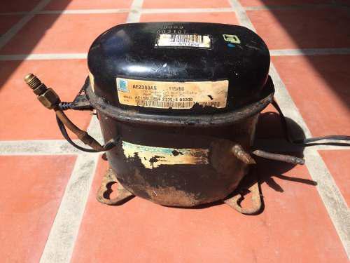 Motor compresor de nevera tecumseh 1/4 en baja 5 tubos