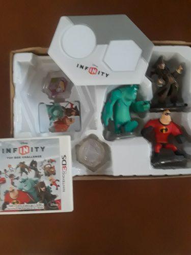 Juego de nintendo 3ds disney infinity, super héroes marvel