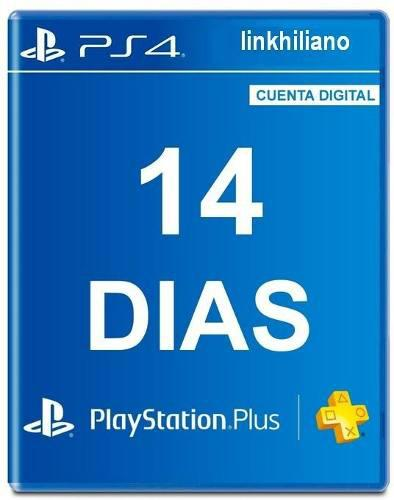 Psn 14 dias plus playstation ps3 ps4 ps vita