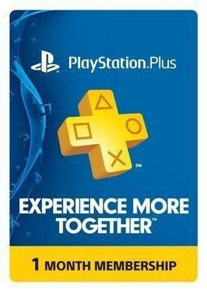 Psn playstation plus 30 días ps3 ps4 ps vita envío