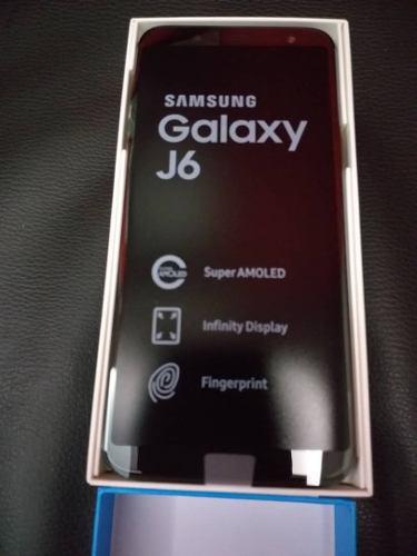 Samsung galaxy j6 + vidrio templado ! somos tienda fisica