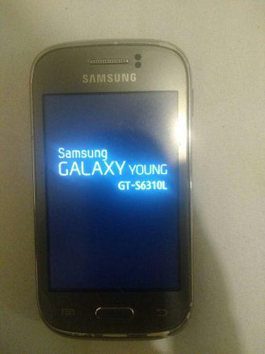 Samsung galaxy young 6310l detalles. pantalla y tactil finos