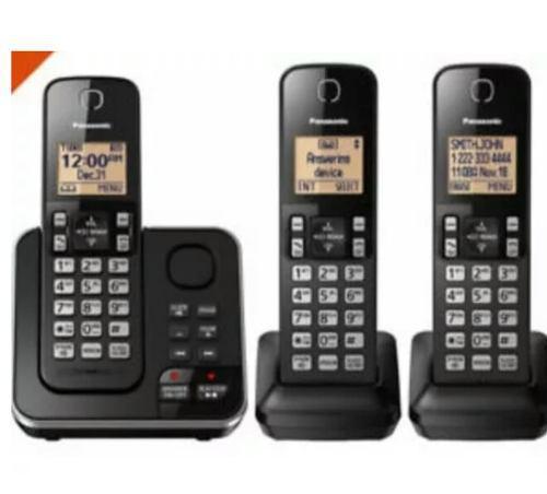 Teléfono inalámbrico panasonic digital expansible dect 6.0