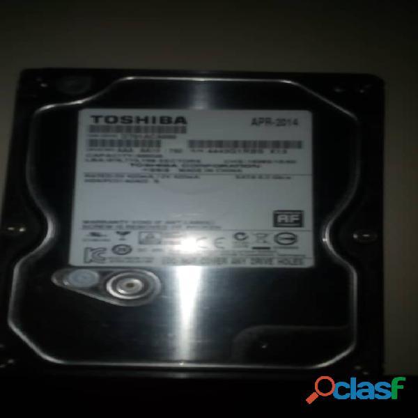 Vendo disco duro toshiba 500gb 7200rpm 6gb/s 3.5''
