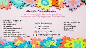 Atención psicopedagogica