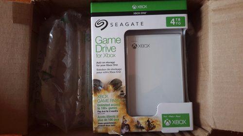 Disco duro seagate 4tb para xbox one edicion especial nuevo