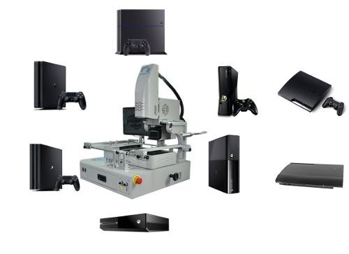 Revison de consolas de video juegos para reballing