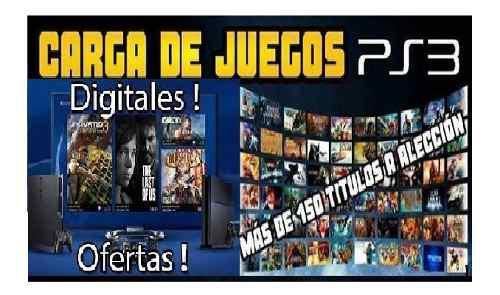 Juegos digitales licencia ps3 (instalacion en consola)