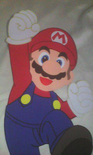 Mario bros nintendo g figuras decoración fiests