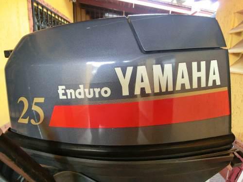 Motor fuera de borda yamaha enduro 25 hp