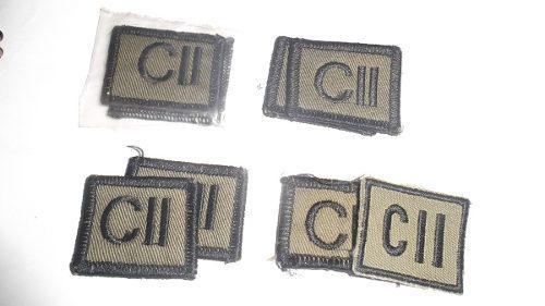 3 pares jerarquias cadete/alumno 2do año nuevas leer