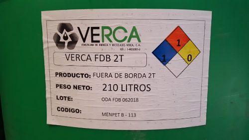 Aceite fuera de borda 2t dos tiempos tambor 210 litros tcw2