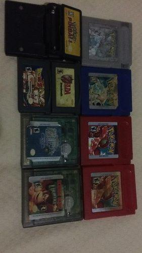 Vendo o cambio juegos de game boy color y advance originales