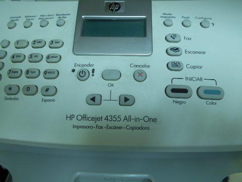 Impresora fax escaner copiadora hp 4355 hp office all in one