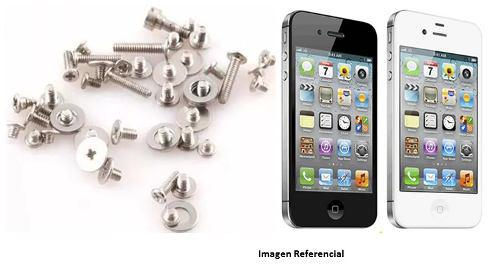 Kit tornillos telefono celular iphone 4 4s 4g 50 pzas tt