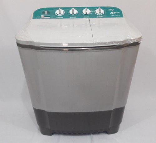 Lavadora semiautomatica doble tina 10 kg g deluxe (tienda)