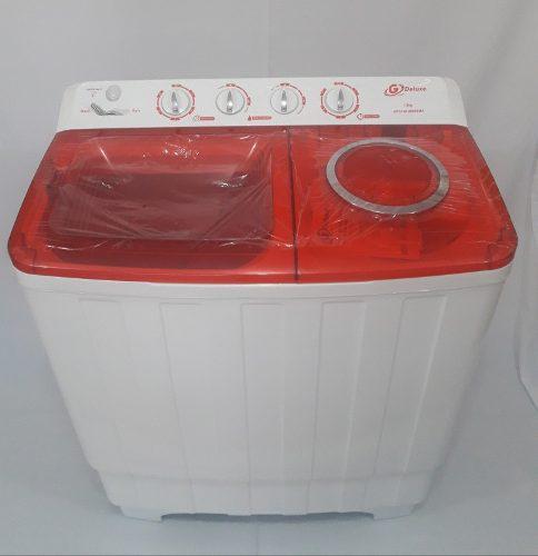 Lavadora semiautomatica doble tina 13 kg g deluxe (tienda)