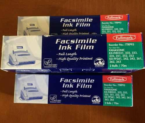 Pelicula fax panasonic fullmark ttrp93 paqx3 stefalcon