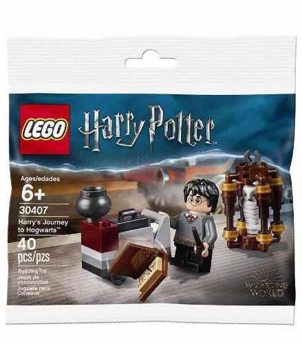 Lego harry potter 30407 harrys journey yo hogwarts 40 piezas